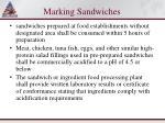 marking sandwiches95