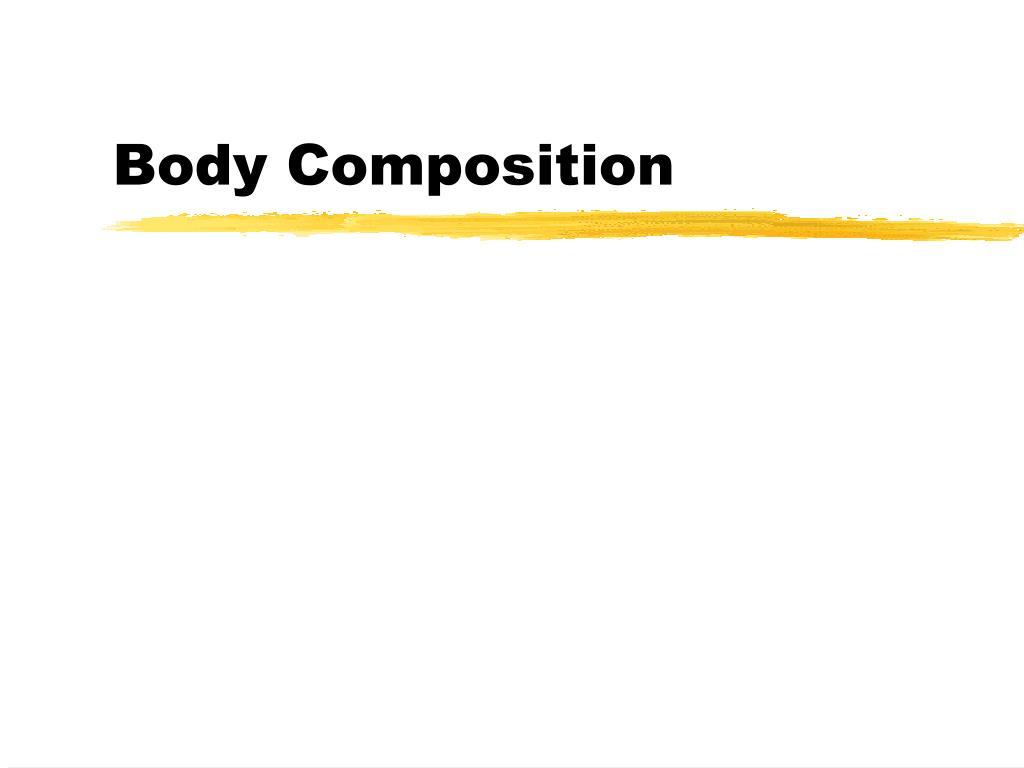 body composition l.