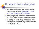 representation and notation