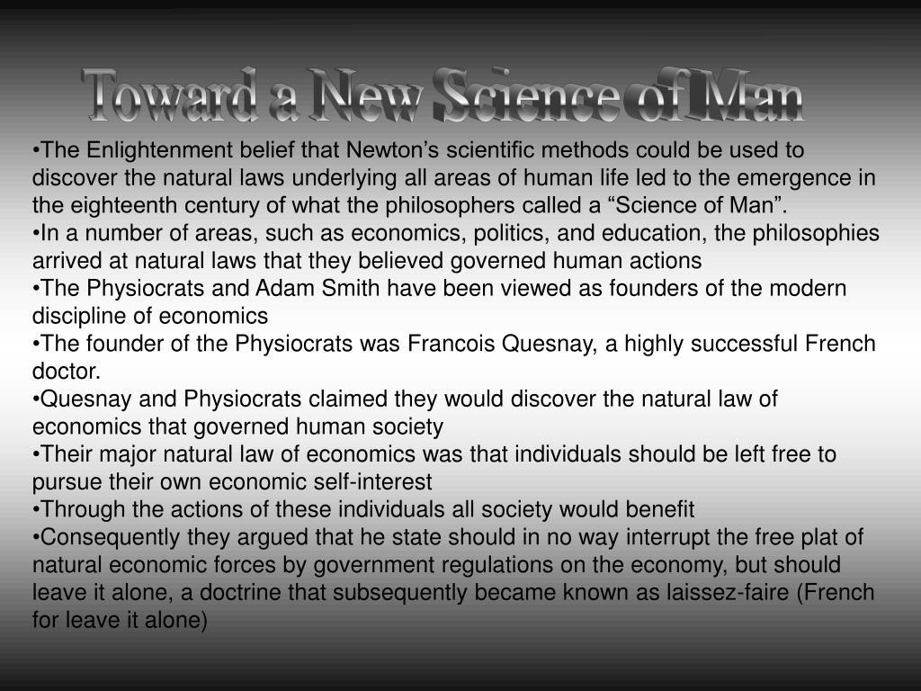 Toward a New Science of Man