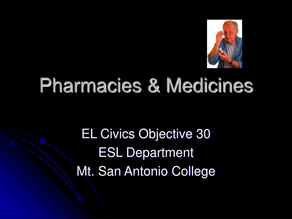 pharmacies medicines l.