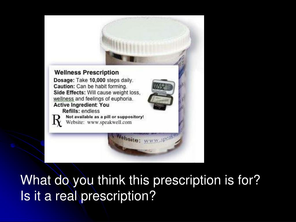 What do you think this prescription is for?