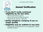 annual verification22