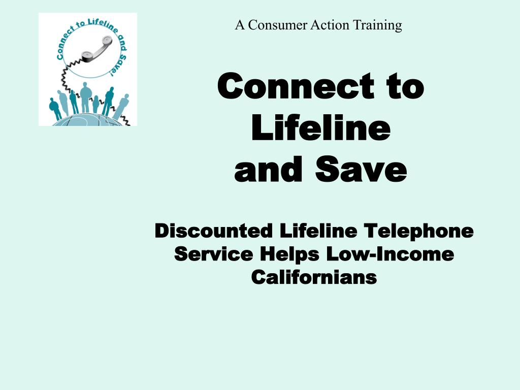 connect to lifeline and save l.