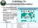 a strategy for environmental information
