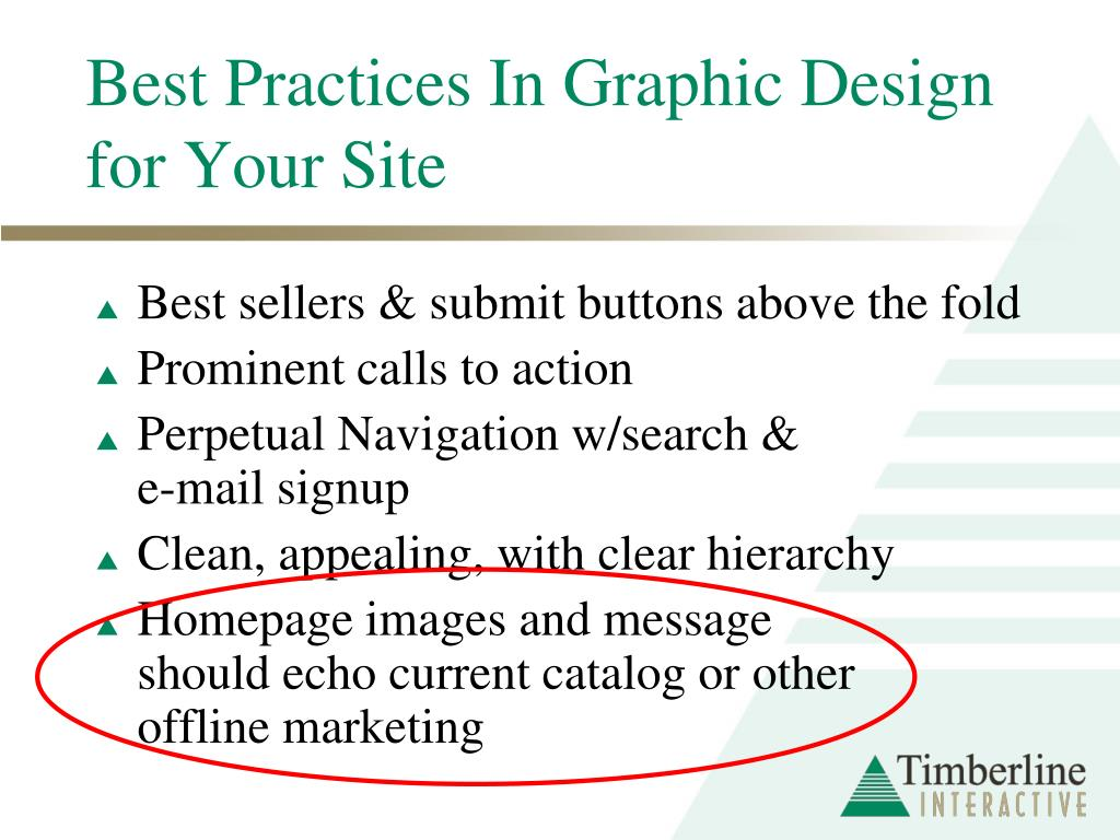 Best Practices In Graphic Design for Your Site