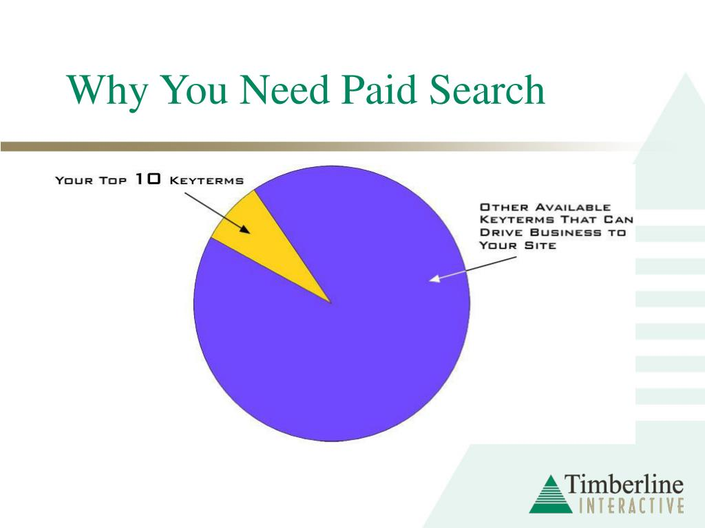 Why You Need Paid Search