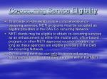 co occurring service eligibility