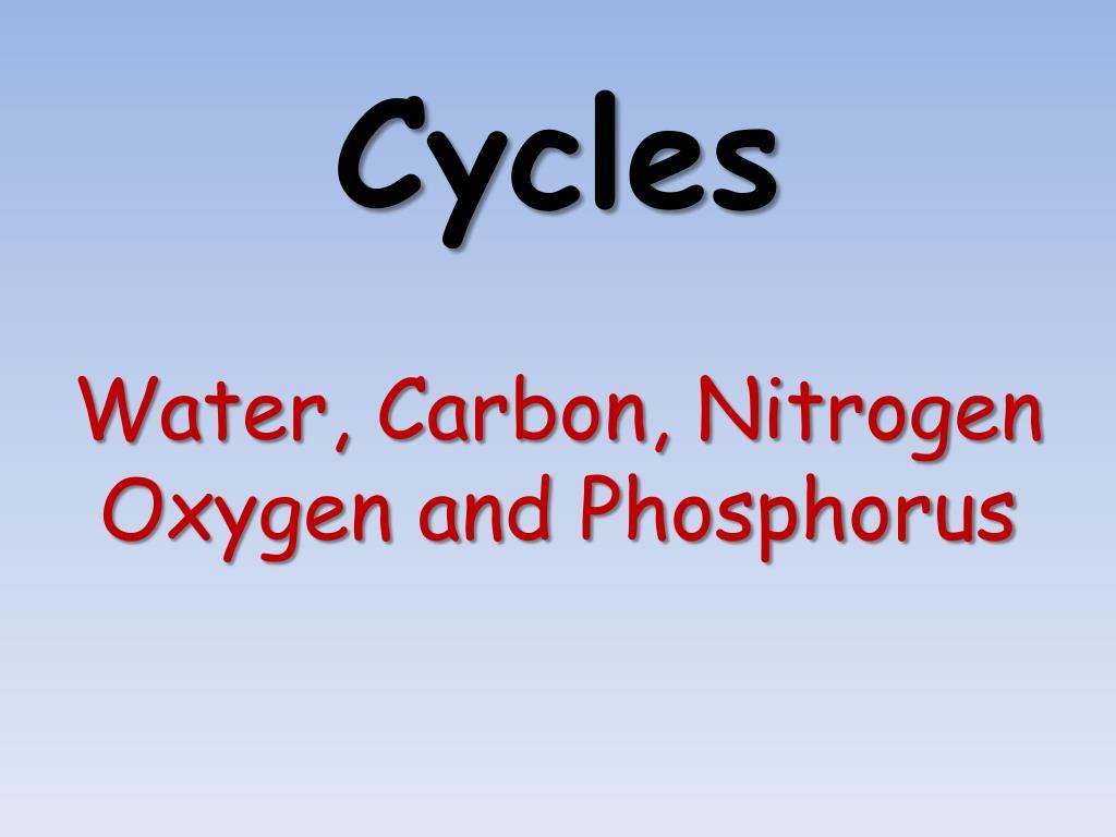 cycles l.