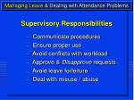 managing leave dealing with attendance problems8