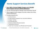 home support services benefit