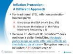 inflation protection a different approach