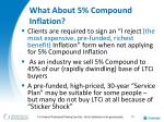 what about 5 compound inflation