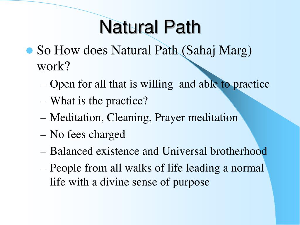 PPT - PURPOSE OF MEDITATION PowerPoint Presentation - ID:704105