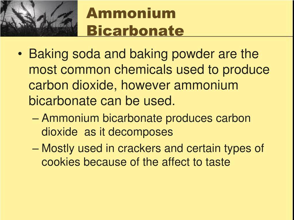 Ammonium Bicarbonate