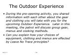the outdoor experience22