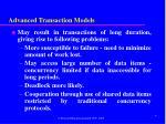 advanced transaction models96