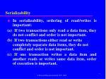 serializability21