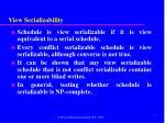 view serializability28