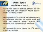 direct spent wash treatment