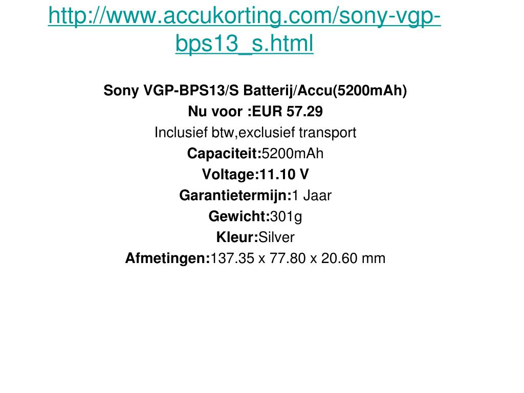 http www accukorting com sony vgp bps13 s html l.