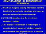 complications in transmission expansion28