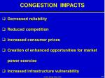 congestion impacts