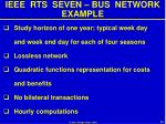 ieee rts seven bus network example