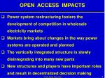 open access impacts