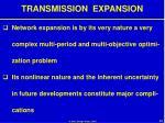 transmission expansion