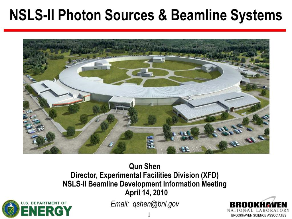 nsls ii photon sources beamline systems l.
