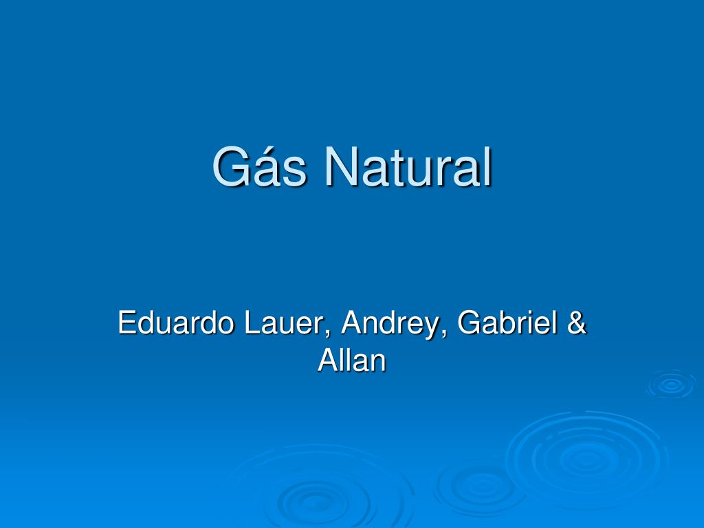g s natural l.