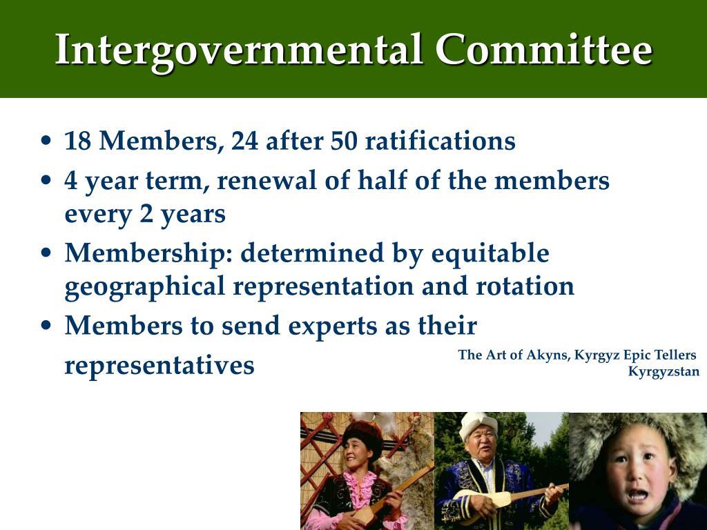 Intergovernmental Committee