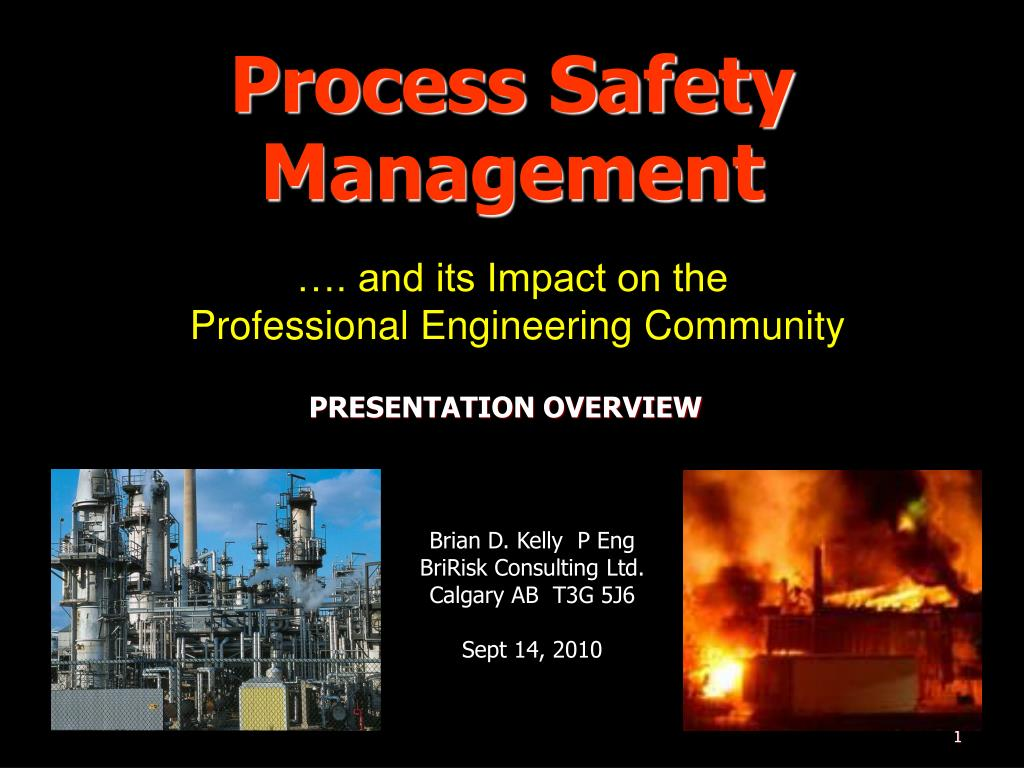 process safety management l.