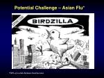 potential challenge asian flu