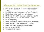 minnesota s health care environment