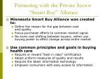 partnering with the private sector smart buy alliance