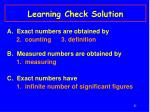 learning check solution29