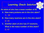 learning check solution34