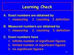 learning check28