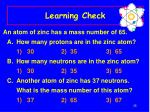 learning check33