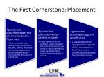 the first cornerstone placement