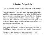 master schedule4