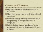 careers and turnover