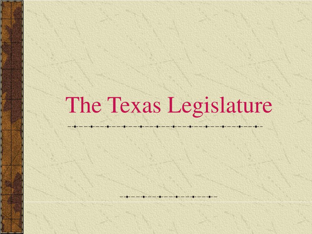 the texas legislature l.