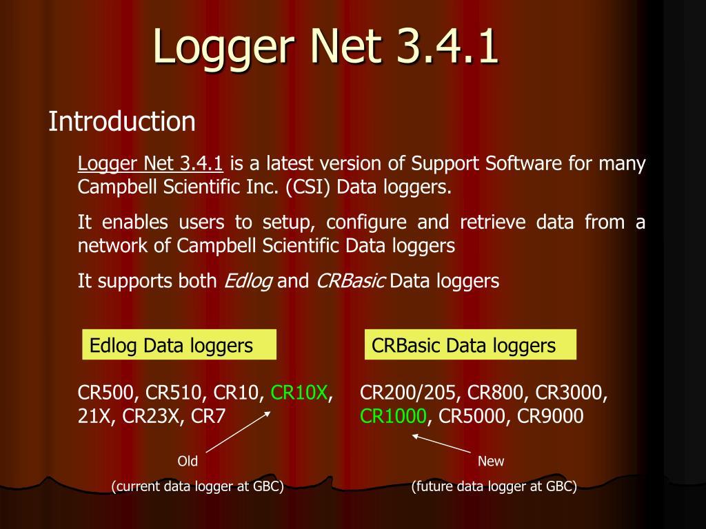 logger net 3 4 1 l.