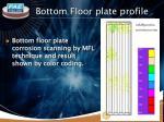 bottom floor plate profile