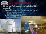 tank inspection service