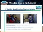 welder training center