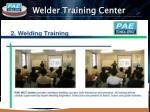 welder training center11